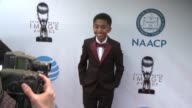 Miles Brown at 48th NAACP Image Awards at Pasadena Civic Auditorium on February 11 2017 in Pasadena California
