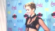 Miley Cyrus at 2013 Teen Choice Awards Press Room on 8/11/2013 in Universal City CA