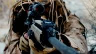 Le operazioni militari, missione speciale nei deserti del Medio Oriente che trasportano armi di prendere nota destinazione. Estremamente pericoloso. Collezione