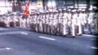 Military Parade and Nurses 1950's