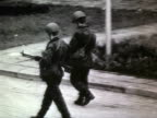 Military presence in Lithuania Soviet soldiers patrolling in Vilnius AUDIO / Vilnius Lithuania
