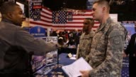Military veterans meet potential employers at Hiring Our Heroes military job fair Hundreds of veterans and their spouses turned out to meet more than...
