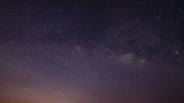 Milky Way after sunrise time-lapse , 4k(UHD)