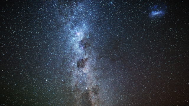 Milky way and night sky