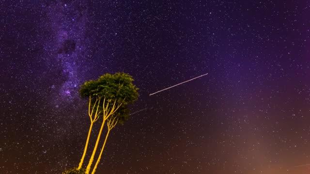Milky Way timelapse at Lamington National Park, Queensland, Australia 1