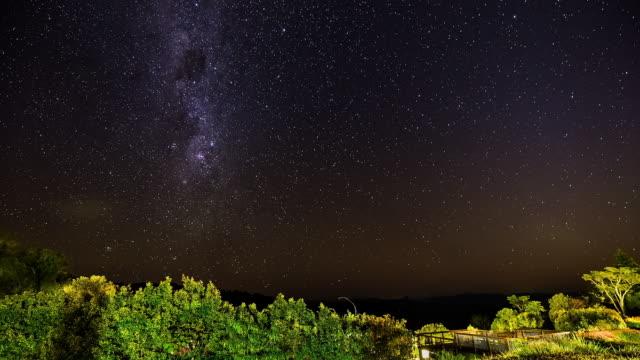 Milky Way timelapse at Lamington National Park, Queensland, Australia 2