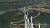 AERIAL, Millau Viaduct, Midi-Pyrenees, France
