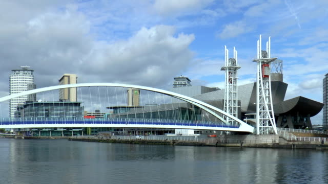 Millenium Lift Bridge - Manchester, England