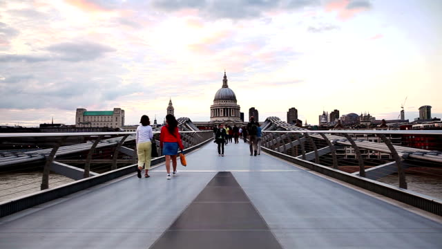 Millennium Bridge and St. Paul's Cathedral