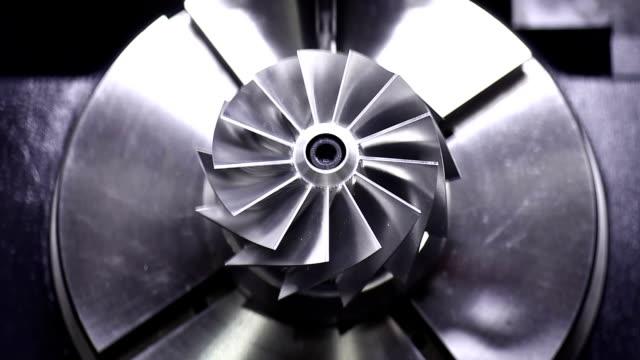 CNC Fräse Polieren präzise turbine