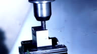 CNC Milling process in SloMo