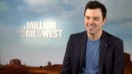 'A Million Ways To Die In The West' film release Interviews McFarlane interview SOT on acting in the film anytime after the invention of antibiotics...