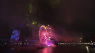 Millions of people have seen in 2012 at parties across the country the biggest of all in London 250 thousand revellers lined the banks of the River...