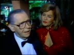 Milton Berle at the Beverly Hills Hotel Reopening at the Beverly Hilton in Beverly Hills California on June 3 1995