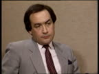 Miners one year after strike ITN London CMS JOHN PRESCOTT MP INTVW SOF 'It was ahead together' 'I think come back'