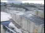 e ENGLAND London Neasden coal depot GV Neasden coal depot PAN RL small pile of coal / MS Pile of coal /