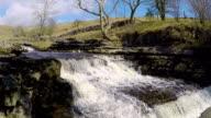 Mini Waterfalls at Ingleton in Northern UK