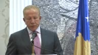 Minister of Foreign Affairs of Montenegro Srdjan Darmanovic and Deputy Prime Minister of Kosovo and Minister of Foreign Affairs Behgjet Isa Pacolli...