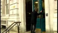 arrivals at Cabinet Office ENGLAND London Whitehall EXT GVs people along to Cabinet Office / Ed Davey MP arriving / Dominic Grieve MP along to...