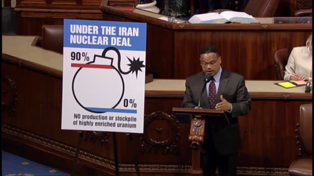 Minnesota Congressman Keith Ellison recalls a speech of Israeli Prime Minister Benjamin Netanyahu at the United Nations says the nuclear agreement...
