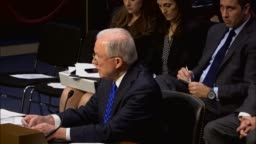 Jeff Sessions Appears Before Senate Judiciary Committee
