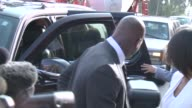 Minnesota Vikings running back Adrian Peterson arrived at a Montgomery County courtroom to face charges against him of negligent injury to a child
