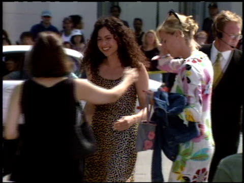 Minnie Driver at the 'Tarzan' Premiere at the El Capitan Theatre in Hollywood California on June 12 1999