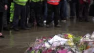 A minute's silence is held on London Bridge in honour of the terror attack victims who died in Saturday's outrage