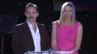 SPEECH Mira Sorvino and Alessandro Nivola present their honoree at 4th Annual Reel Stories Real Lives Benefiting The Motion Picture Television Fund...