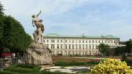 WS, Mirabell Gardens and Schloss Mirabell, Salzburg, Austria