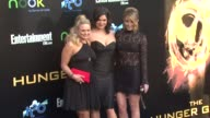 Miranda Lambert Angaleena Presley and Ashley Monroe at The Hunger Games World Premiere on 3/12/2012 in Los Angeles CA