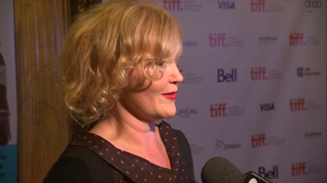 Miranda Richardson at Belle Premiere 2013 Toronto International Film Festival on 9/8/2013 in Toronto Canada