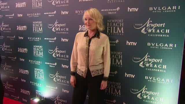 Miranda Richardson at Bulgari Hotel on February 09 2017 in London England