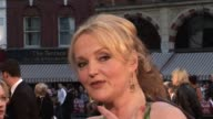 Miranda Richardson at the Made in Dagenham World Premiere at London England