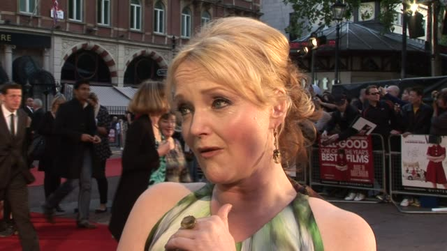 Miranda Richardson on the women of Dagenham Barbara Castle the woman her character was based on at the Made in Dagenham World Premiere at London...