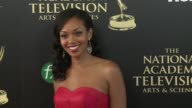 Mishael Morgan at the 2014 Daytime Emmy Awards at The Beverly Hilton Hotel on June 22 2014 in Beverly Hills California
