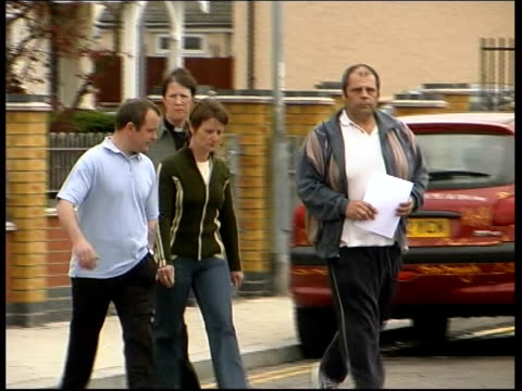 Search continues EVENING NEWS COLIN BAKER ENGLAND Norfolk Great Yarmouth David Entwistle along with relatives as arriving at press conference...