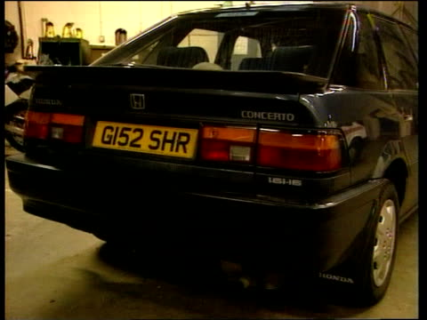 Yorkshire York GVs car belonging to Bramley family