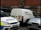 Search continues Bristol GV White Ford Escort van belonging to David Milner in station car park PULL Parking ticket on windscreen Police officer...