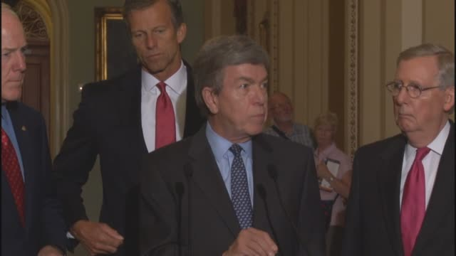 Missouri Senator Roy Blunt argues that Iranian threats against Israel and detaining of United States citizens traveling to members of the Senate