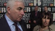 INTERVIEW Mitch and Jane Winehouse on being at the BRITS what Amy Winehouse would have thought what it means to them at The BRIT Awards Arrivals at...