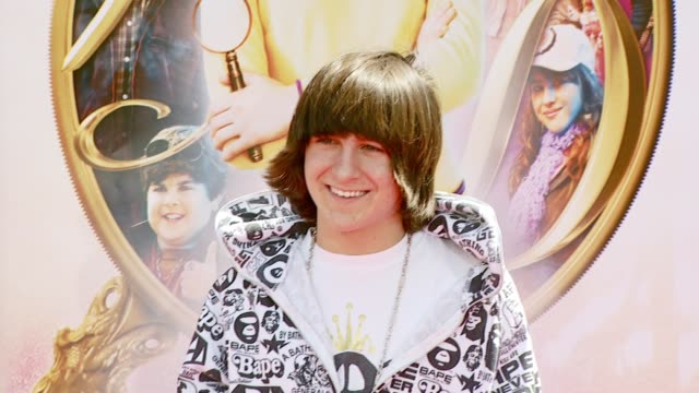 Mitchel Musso at the 'Nancy Drew' Premiere at Grauman's Chinese Theatre in Hollywood California on June 10 2007