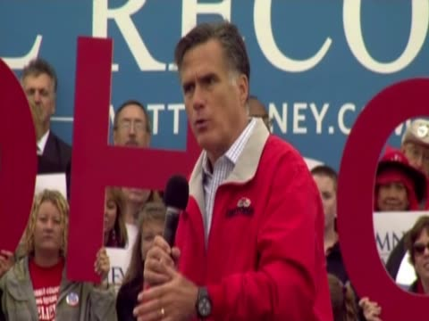 Mitt Romney says we can't afford 4 more years of Obama