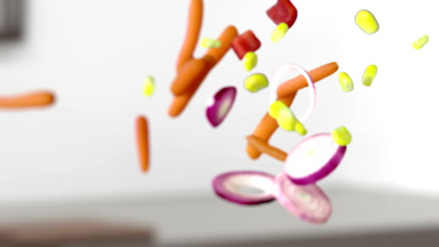 SLO MO Mix Of Vegetables