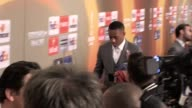 Mixed zone gvs and brief quotes from Paul Pogba on the future of Manchester United captain Wayne Rooney following their 20 Europa League final win...
