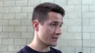 Mixed zone interview with Manchester United midfielder Ander Herrera ahead of the side's Europa League final against Ajax The Spaniard says it is a...