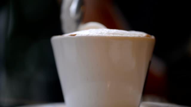 Mischen Kaffee