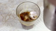 Mixing Coffee with Milk