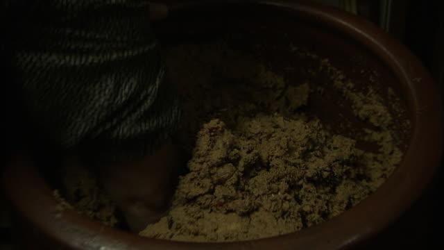 Mixing Rice Bran Bed, Fukuoka, Japan