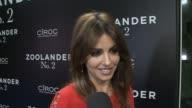 Mónica Cruz in 'Zoolander No 2' Madrid fan screening